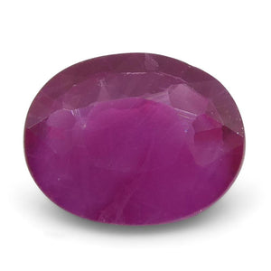 0.49 ct Oval Ruby Burma - Skyjems Wholesale Gemstones
