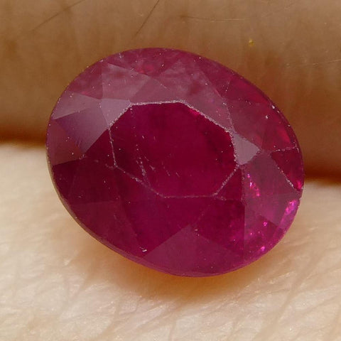 0.83 ct Oval Ruby Burma