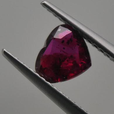 1.08ct Heart Red Ruby - Skyjems Wholesale Gemstones