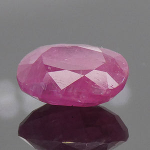 1.02ct Cushion Red Ruby Unheated - Skyjems Wholesale Gemstones