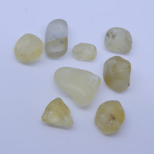 15.07 cts Rough Unheated Yellow Sapphire from Sri Lanka / Ceylon - Skyjems Wholesale Gemstones