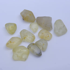 15.15 cts Rough Unheated Yellow Sapphire from Sri Lanka / Ceylon - Skyjems Wholesale Gemstones