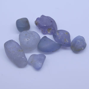 Rough Sapphire 15.02 cts <<MEASUREMENTS>>mm <<SHAPE>> Grey Blue  $150