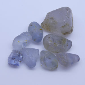 Rough Sapphire 15.2 cts <<MEASUREMENTS>>mm <<SHAPE>> Grey Blue  $150