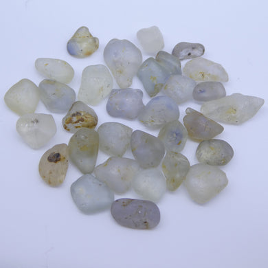 50.23 cts Rough Unheated Mixed Color Sapphire from Sri Lanka / Ceylon - Skyjems Wholesale Gemstones