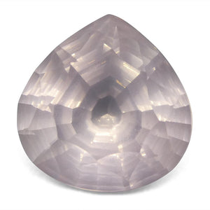 10.87ct Pear Rose Quartz Fantasy/Fancy Cut - Skyjems Wholesale Gemstones