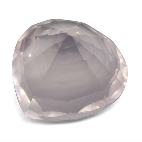 10.87ct Pear Rose Quartz Fantasy/Fancy Cut