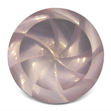 15.02ct Round Rose Quartz Fantasy/Fancy Cut - Skyjems Wholesale Gemstones