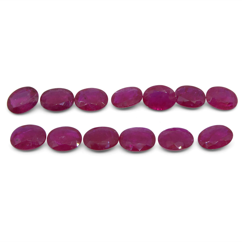 Ruby Wholesale Lot, 22.92cts 13 Stones