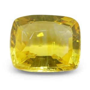 Yellow Sapphire 2.07 cts 8.08x6.66x3.71mm Cushion Yellow  $940