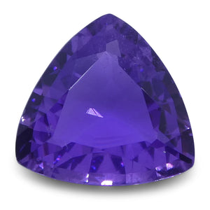 Purple Sapphire 0.8 cts 6.30x6.23x2.71mm Trillion Purple  $220