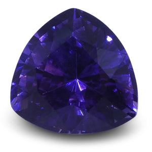 Color Change Purple Sapphire 0.96 cts 5.78x5.67x4.00mm Trillion Purple  $230.4