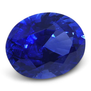 0.85 ct Blue Sapphire Oval