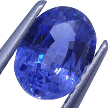 1.37 ct Blue Sapphire Oval