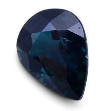 1.40 ct Pear Genuine Natural Blue Sapphire