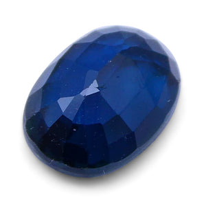 1.25 ct Oval Genuine Natural Blue Sapphire