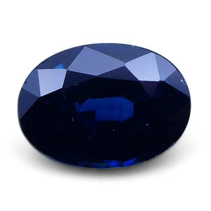 1.04 ct Oval Genuine Natural Blue Sapphire