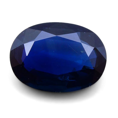 1.14 ct Oval Genuine Natural Blue Sapphire