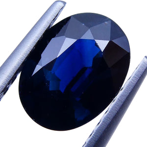 1.28 ct Oval Genuine Natural Blue Sapphire