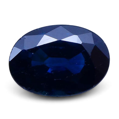 0.98 ct Oval Genuine Natural Blue Sapphire