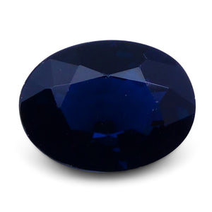 1.44 ct Oval Genuine Natural Blue Sapphire - Skyjems Wholesale Gemstones