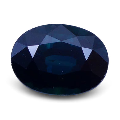 1.38 ct Oval Genuine Natural Blue Sapphire - Skyjems Wholesale Gemstones