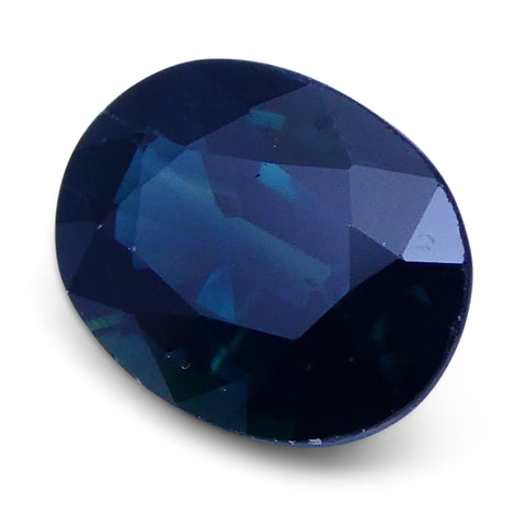 1.38 ct Oval Genuine Natural Blue Sapphire