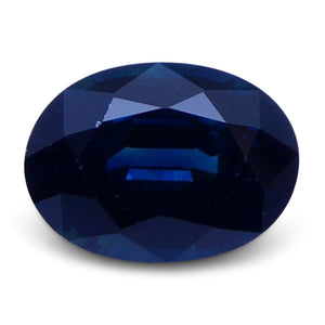 1.08 ct Oval Genuine Natural Blue Sapphire - Skyjems Wholesale Gemstones