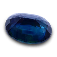 1.08 ct Oval Genuine Natural Blue Sapphire