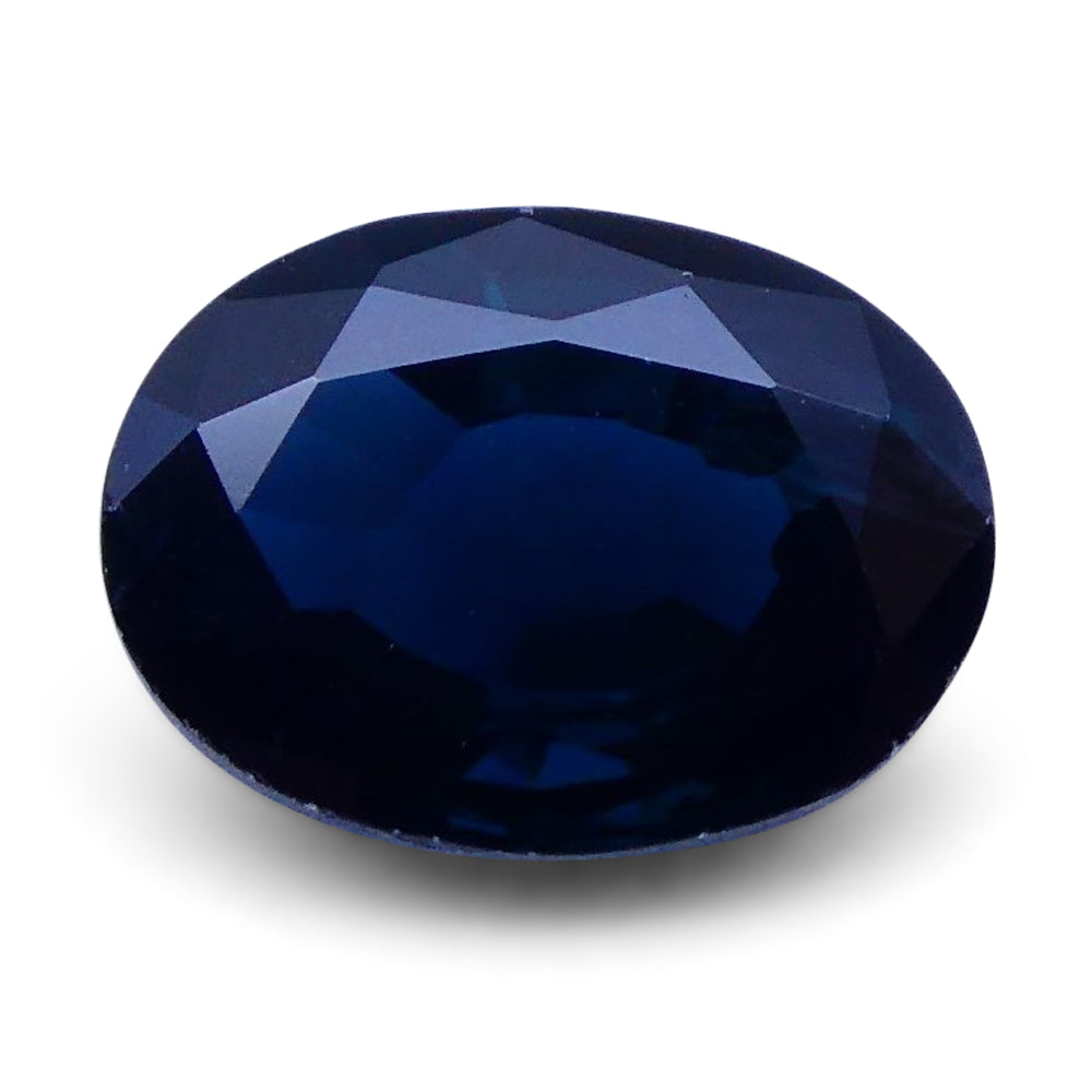 1.48 ct Oval Genuine Natural Blue Sapphire