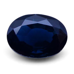 1.48 ct Oval Genuine Natural Blue Sapphire - Skyjems Wholesale Gemstones