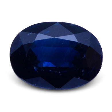 1.46 ct Oval Genuine Natural Blue Sapphire - Skyjems Wholesale Gemstones