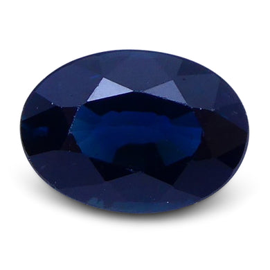 1.04 ct Oval Genuine Natural Blue Sapphire - Skyjems Wholesale Gemstones