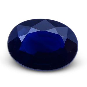 0.83 ct Oval Genuine Natural Blue Sapphire