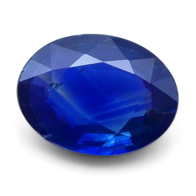 1.42 ct Oval Genuine Natural Blue Sapphire - Skyjems Wholesale Gemstones