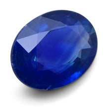 1.42 ct Oval Genuine Natural Blue Sapphire