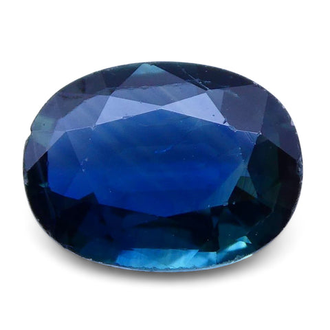 1.24 ct Oval Genuine Natural Blue Sapphire