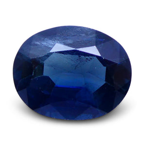 1.29 ct Oval Genuine Natural Blue Sapphire - Skyjems Wholesale Gemstones