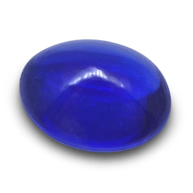 0.96 ct Oval Sugarloaf Cabochon Sapphire - Skyjems Wholesale Gemstones