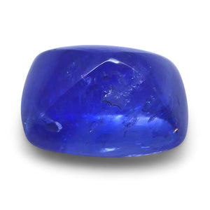2.27 ct Cushion Sugarloaf Cabochon Sapphire - Skyjems Wholesale Gemstones