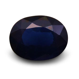 1.36 ct Oval  Blue Sapphire - Skyjems Wholesale Gemstones
