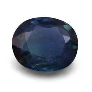 1.77 ct Oval  Blue Sapphire - Skyjems Wholesale Gemstones