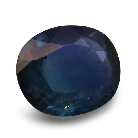 1.77 ct Oval  Blue Sapphire