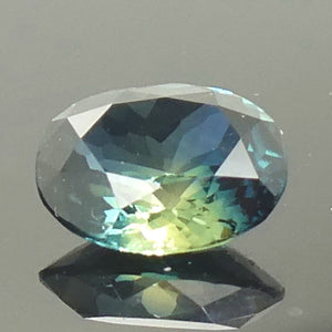 1.16ct Oval Teal Blue Sapphire - Skyjems Wholesale Gemstones