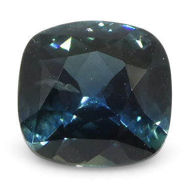 0.76ct Cushion Teal Blue Sapphire - Skyjems Wholesale Gemstones