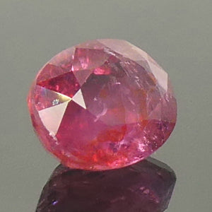 1.68ct Oval Pink Sapphire Unheated - Skyjems Wholesale Gemstones