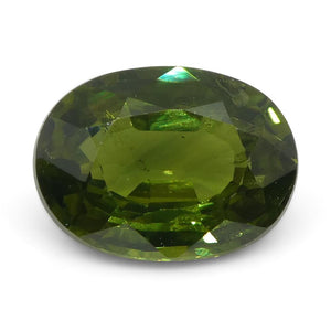 1.46ct Oval Green Sapphire - Skyjems Wholesale Gemstones