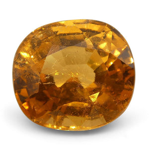 3.65 ct Cushion Vivid Fanta Orange Spessartite/Spessartine Garnet - Skyjems Wholesale Gemstones