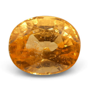 Spessartite Garnet 3 cts 8.46x6.94x5.33mm Oval Orange  $680