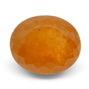 10.85ct Oval Fanta Orange Spessartite/Spessartine Garnet - Skyjems Wholesale Gemstones